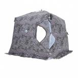 Палатка Куб 2,5х2,5х2,3, Зимний лес, Тюмень