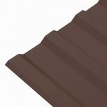 Профнастил МП-20 (RAL 8017) шоколад 1150x2000x0.45, Тюмень