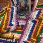 шарф вязаный, Тюмень