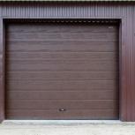 Гаражные секционные ворота Doorhan, Тюмень
