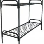 Кровать металлическая двухъярусная, кровати для больниц, лагерей, Тюмень