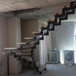 Кованые металлические лестницы в Тюмени на второй этаж в дом, Тюмень
