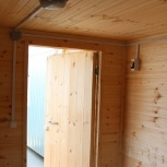 Деревянный домик  5 х 2,45 х 2,5 полностью из вагонки., Тюмень