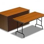 Складные столы и складные стулья, Тюмень