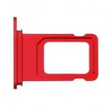 Лоток сим (SIM) карты iPhone XR красный, Тюмень