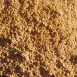 Реализуем песок крупнозернистый по Тюмени и области, любые объемы, Тюмень