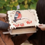 Кормушка (скворечник) для птиц с местом для декупажа, Тюмень