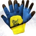 Перчатки акриловые с латексным покрытием, Тюмень