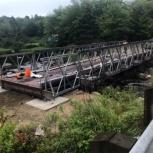 Автодорожный быстровозводимый мост., Тюмень