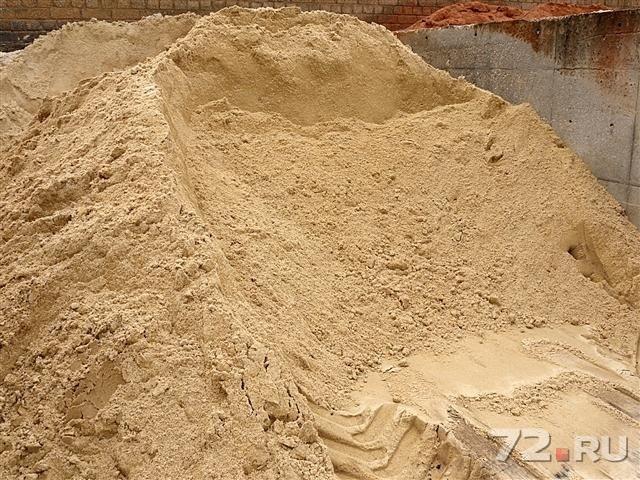 цена песка бетона