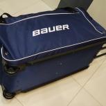 Bauer хоккейный баул спортивная сумка на колёсах. Доставка, Тюмень
