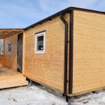Деревянный дачный домик с обшивкой из вагонки., Тюмень