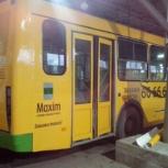 Реклама на маршрутных автобусах, Тюмень