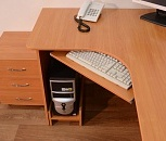 Стол компьютерный сту-3 вишня, Тюмень