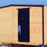 Дачный зимний модульный дом 6 м х 4,9 м полностью из вагонки., Тюмень