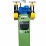 Точильно-шлифовальный станок  ТШ 2.25 с пылесосом ПП-750/У, Тюмень
