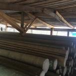 деревянные опоры ЛЭП, Тюмень