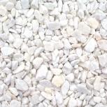 Мраморная белая крошка фр. 5-10,5-20 в МКР-1тонна.Есть доставка., Тюмень