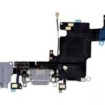Шлейф нижний iPhone 6S + разъем зарядки (белый) с аудио разъемом, Тюмень