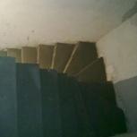 Монолитные бетонные лестницы в Тюмени на второй этаж в дом, Тюмень