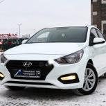 Аренда авто Hyundai Solaris New  без водителя, Тюмень