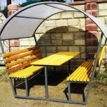 Металлические зоны отдыха для дач в Тюмени ( Мини Беседки ), Тюмень