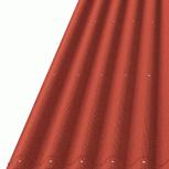 Ондулин Лист Смарт 950х1950 красный, Тюмень
