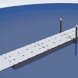 Секция понтонного моста 48 метров, понтонный мост, причал., Тюмень