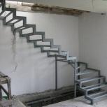 Металлические каркасы лестницы, крыльца, площадок, в Тюмени, Тюмень