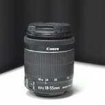 Объектив Canon EF-S 18-55mm f/3.5-5.6 IS STM Б/У, Тюмень