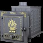 Чугунная банная печь - gefest пб-04, Тюмень