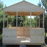Дачная деревянная беседка 3 м х 2,35 м., Тюмень