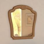 "Зеркало в спальню ""ольга"" орех, Тюмень"