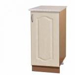 Шкаф-стол с дверцами шн40 перламутр, Тюмень