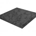 Тротуарная плитка Колодец 300х300х30 Черная, Тюмень