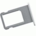 Лоток сим (SIM) карты iPhone 6 белый/серебристый, Тюмень