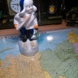 Продам фарфоровую статуэтку Лыжник, Тюмень