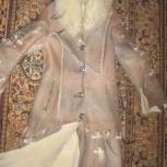 Дублёнка женская в стиле снежной королевы, Тюмень