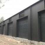 Строительство гаражей для техники, Тюмень