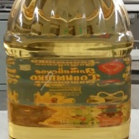 Масло подсолнечное рафинированное наливом. Производитель, Тюмень