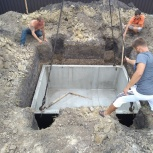 Погреб, овощехранилище из бетона жби под ключ, Тюмень