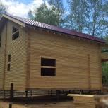 Теплый и уютный деревянный дом, Тюмень