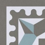 Плитка Декор Gracia Ceramica  200х200 Голубой,Серы, Тюмень