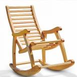 Кресло качалка уют дерево, Тюмень