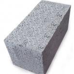 Керамзитоблок полнотелый 390x190x188 мм М-75, Тюмень