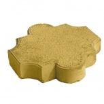 Тротуарная плитка Клевер 295х295х55 Желтая, Тюмень