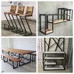 Мебель из металла в стиле Loft, Тюмень