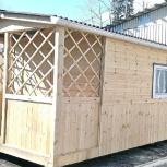 Дачный домик 6 м х 2,45 м полностью из вагонки., Тюмень