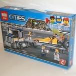 Аналог Лего Сити Грузовик для перевозки драгстера, Тюмень