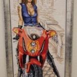 Продам картину (вышивка крестом), Тюмень